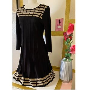 """ JH "" Black Dress size "" Medium """